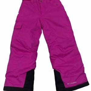 Columbia bugaboo winter / ski pants small / pink